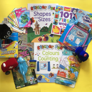 Toddler activities, Games and toys for Plane Travel