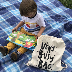 Activity books for kids Very Busy Bag