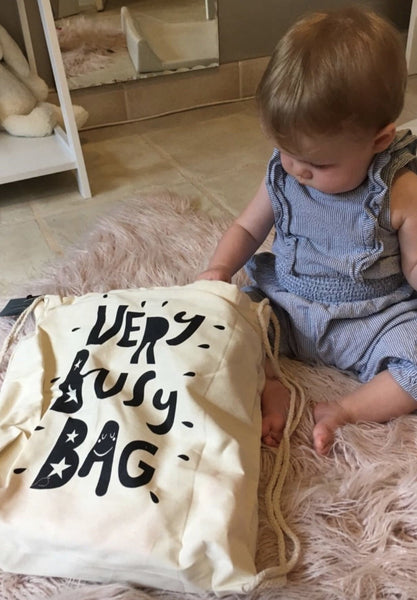 Very Busy Bag - Age 6-12 Month Old