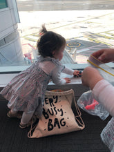Load image into Gallery viewer, very busy bag activity bag for kids