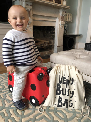Very Busy Bag Trunki suitcase