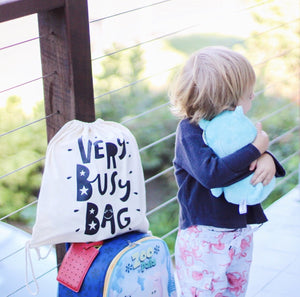 Travelling with kids Very Busy Bag