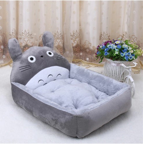 Teddy Cushion Basket Bed
