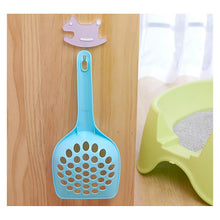 Load image into Gallery viewer, Plastic Cat Perforated Scooper Shovel
