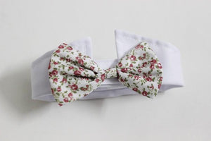 Colors Cat Dog Bow-tie Collar Decoration Christmas Grooming Pet Supply White