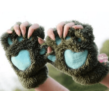 Load image into Gallery viewer, Cozy Cat Paw Gloves