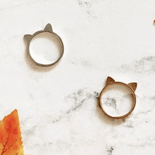 Load image into Gallery viewer, Lucky Cat Ears Ring