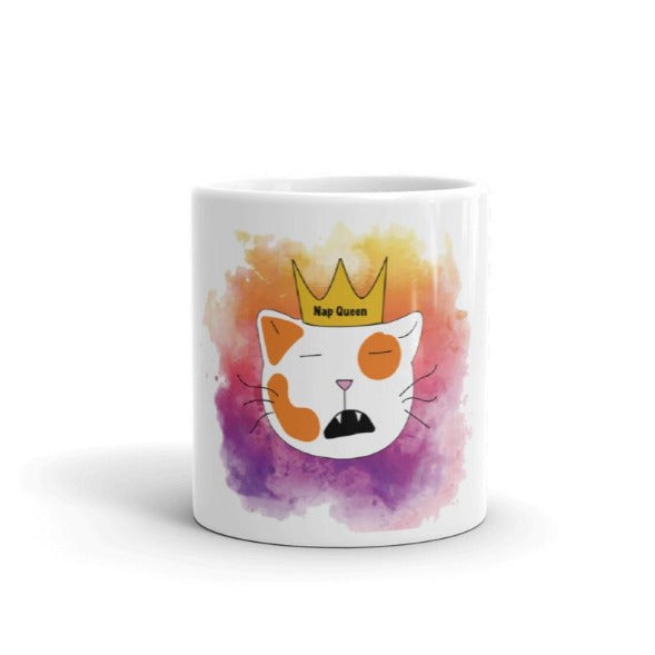 CatCurio Nap Queen Cat Mug