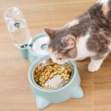 Load image into Gallery viewer, Cat Bowl Dog Water Feeder Bowl Pets Kitten Drinking Fountain Food Dish