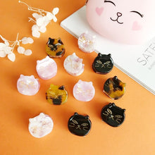 Load image into Gallery viewer, Mini Cat Claw Hair Clutches Cute Cat Hair Clips Kitty Hair Accessories