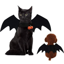 Load image into Gallery viewer, Pet Cat Bat Wing Cosplay Prop Halloween Bat Fancy Dress Costume Outfit