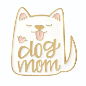 Cat Lady Enamel Pin Cat Lovers Gift Cat Gifts Bandana Pin Chat Broche Whte