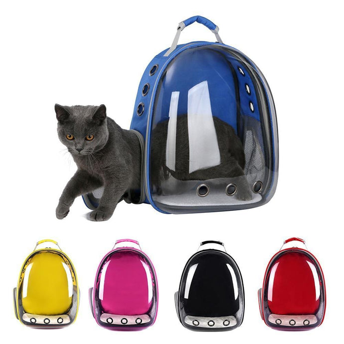 Cat-carrying Transparent Capsule Backpack