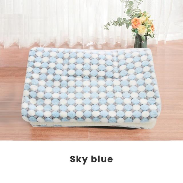Thickened Pet Soft Fleece Blanket