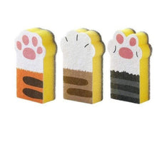 Load image into Gallery viewer, 3PCS Cat Sponge Kitchen Cleaning Wipes