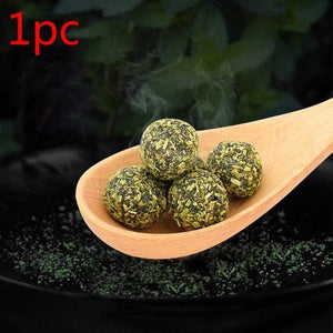 Pet Catnip Toys Edible Catnip Ball Safety Healthy Cat Mint Clean Teeth