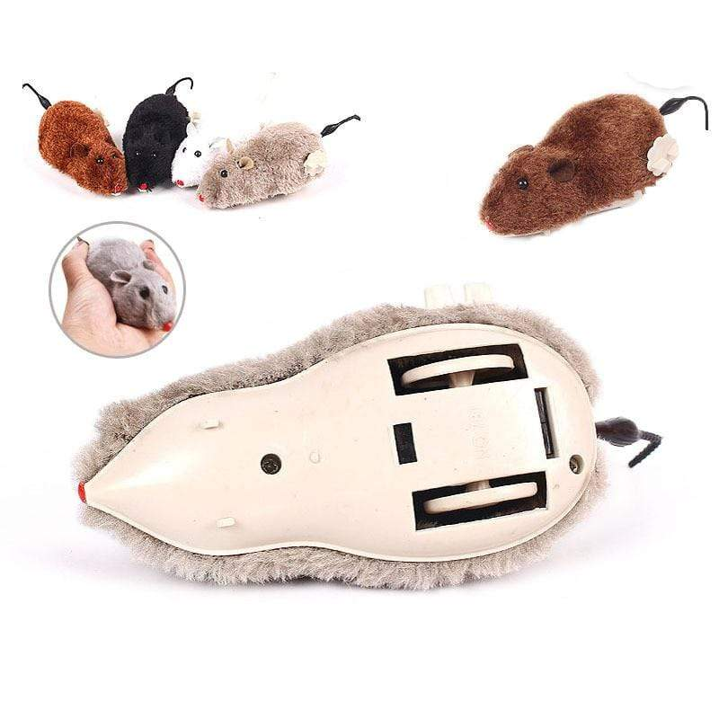Mechanical Winding Mouse Cat Toy