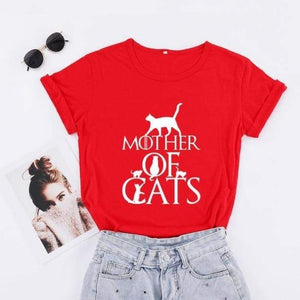 Mother of Cats New T-Shirt