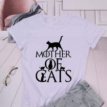 Load image into Gallery viewer, Mother of Cats New T-Shirt