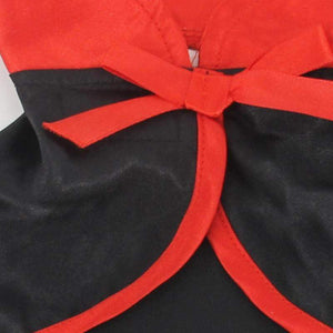 Cool Black Cat Halloween Costume Cosplay Cloak Shawls Cape Warm Scarfs Red and Black