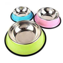 Load image into Gallery viewer, Colorful Stainless Steel Dish Feeder