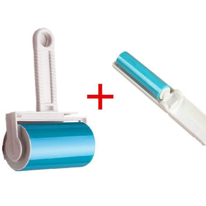 Portable Washable Dust Remover Drum Portable Folding Dust Hair Remover