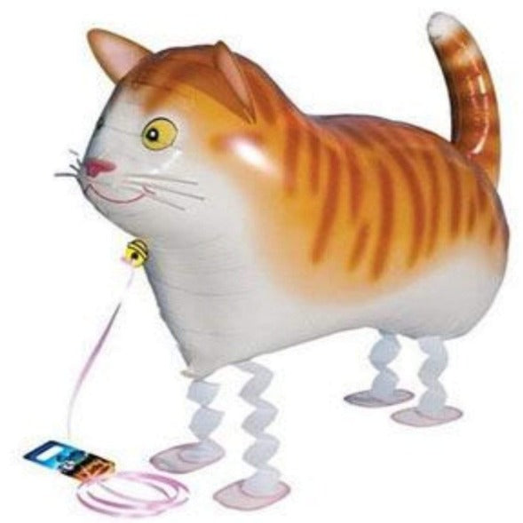 Animal Cat Pet Helium Walking Balloon Baby Shower Foil Balloon Kid Toy