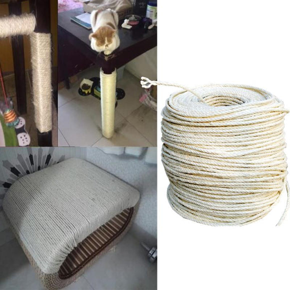 3M Sisal Rope for Making DIY Scratching Posts-Scratching Pads & Posts-CatCurio Pet Store - World's Best Cat Supplies Store -CatCurio Pet Store - World's Best Cat Supplies Store