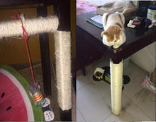 Load image into Gallery viewer, 3M Sisal Cat Scratching Climbing Toy Cat Sharpen Claw Desk Leg Binding