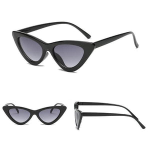 Owl City Vintage Women Retro Sunglasses Cat Eye Eyewear Brand Designer