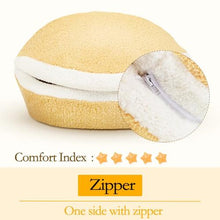 Load image into Gallery viewer, Cat Bed Hamburger Bed Bed Windproof Pet Puppy Nest Hidden Shell Burger