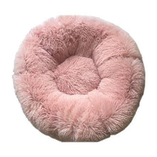 Load image into Gallery viewer, Round Plush Pet Cat Bed House Soft Cats Bed Winter Warm Sleeping Mat