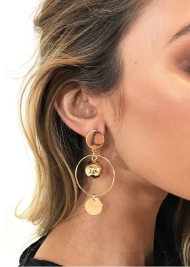 Eye On The Ball Earrings