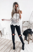Gypsy Top White