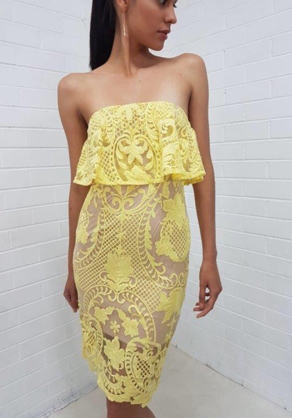Gianna Yellow Dress