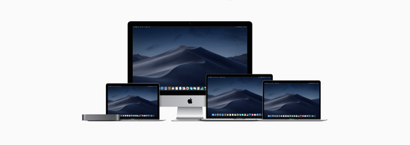 Apple product family, iMac, MacBook, MacBook Air, MacBook Pro, Mac Mini Mojave High Sierra USB3 Thunderbolt Radeon Vega Retina Touch Bar FaceTime Safari