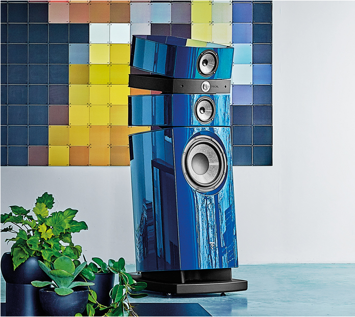 Focal Stella EM Evo Floorstanding Speaker in Metallic paint finish