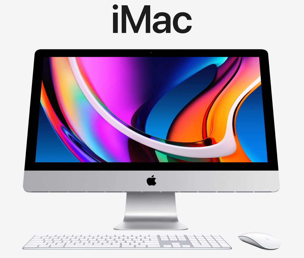 "iMac 27"" with Magic Keyboard and Mouse"