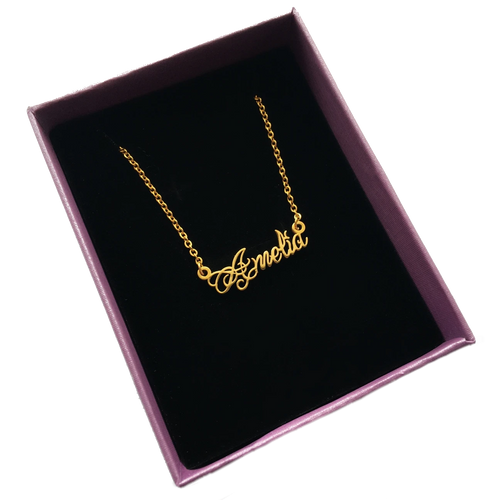 CUSTOM NAME CHAIN (PRE-ORDERS CLOSE MARCH 3RD)