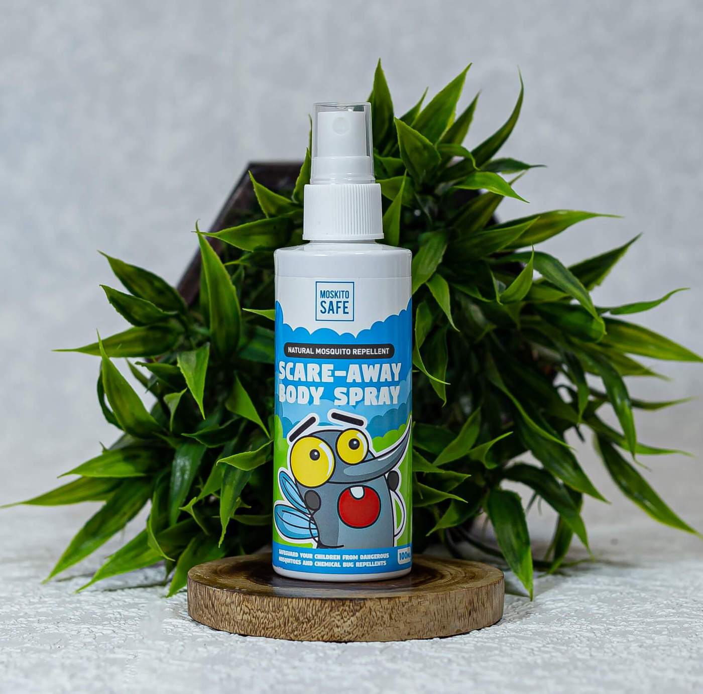 Moskito Safe - Natural Alcohol & DEET Free Mosquito Repellent Spray