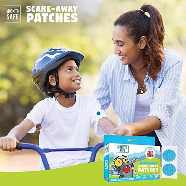 Moskito Safe - Scare Away Natural Mosquito Repellent Patches