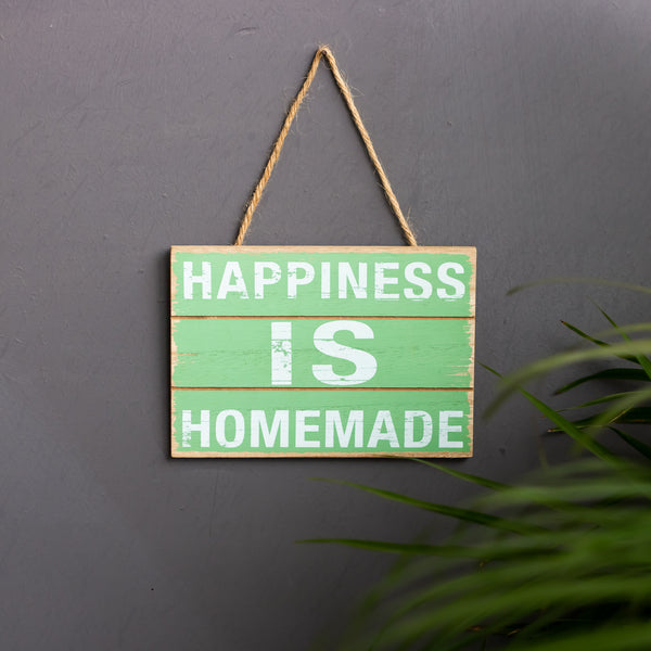 'Happiness is Homemade'