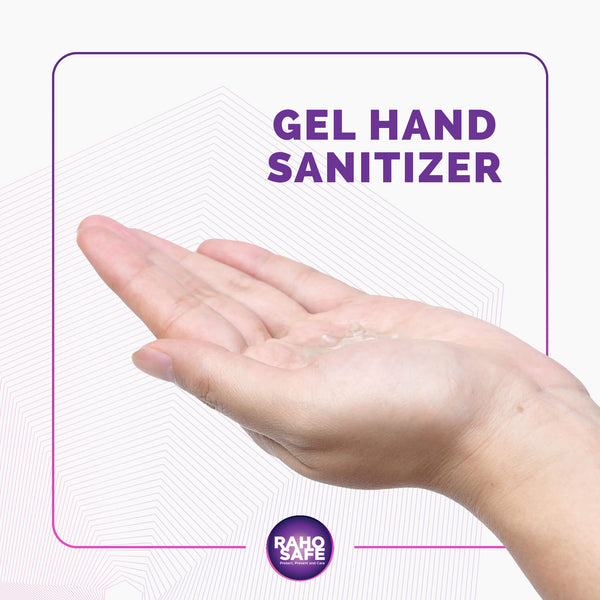 Raho Safe - Alcohol  Based Hand Sanitizer (60 ml)