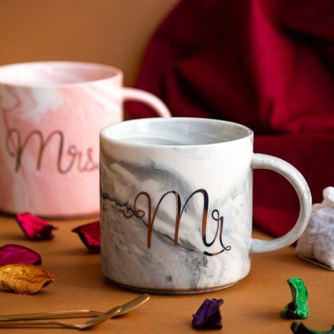 """Mr & Mrs"" Mugs #1"