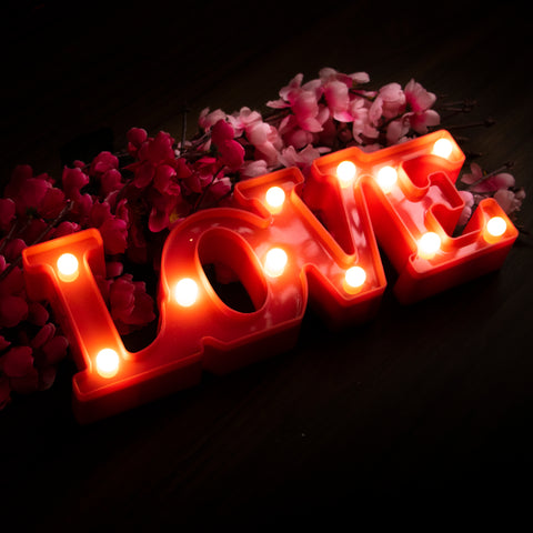 Marquee Light - LOVE (Red)