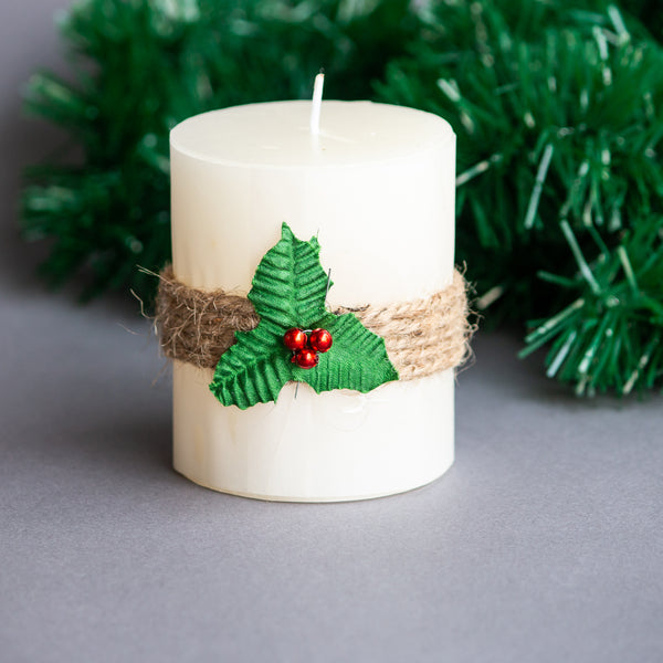 White Decorative Candle