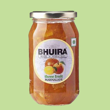 Bhuira- All Natural Three Fruit Marmalade