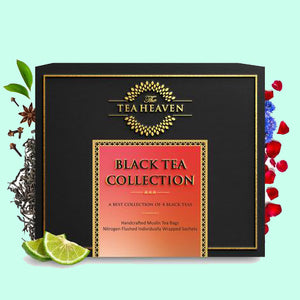 Black Tea Collection -4 Types of Tea