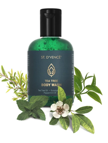 Tea Tree Body Wash with Eucalyptus and Peppermint Oil
