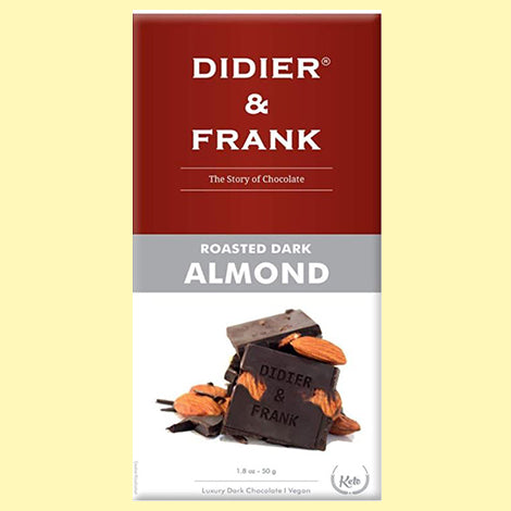 Didier & Frank Roasted Almond Dark Chocolate